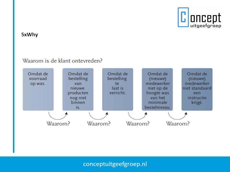 conceptuitgeefgroep.nl 5xWhy