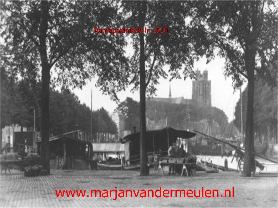 Molen de Maagd (Cornelis de Wittstraat) 1910 Molenstraat in 1915