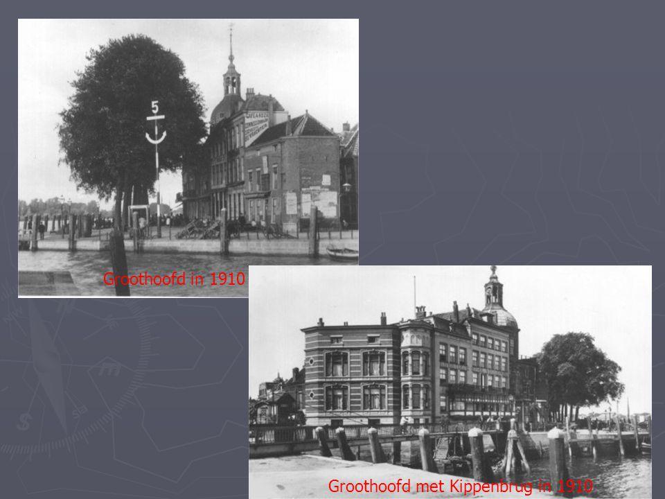 Groothoofd in 1910 Groothoofd met Kippenbrug in 1910
