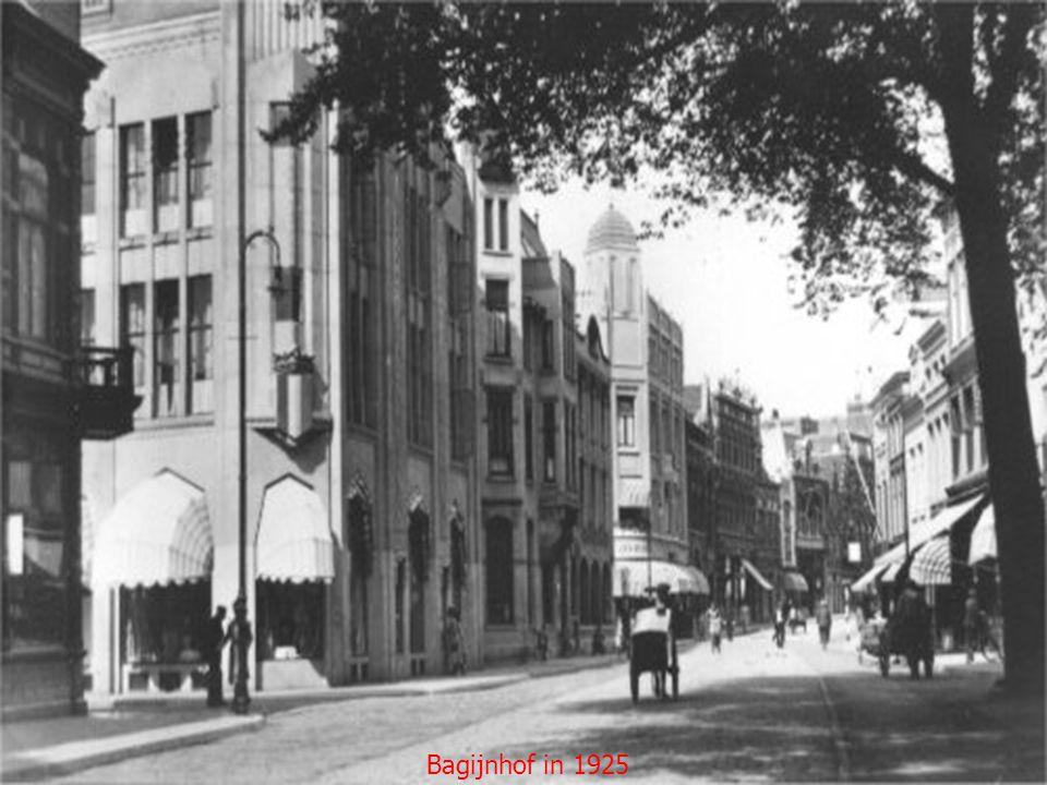 Bagijnhof postkantoor 1900 Belgracht in 1910 Blekersdijk 1910 Blekersdijk 1915