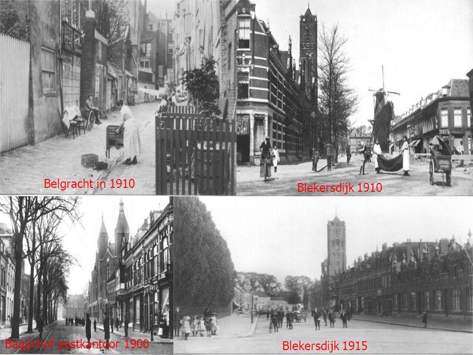 Grote Kerksbuurt in 1910 Grote Spuistraat 1910