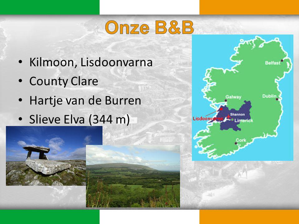 Kilmoon, Lisdoonvarna County Clare Hartje van de Burren Slieve Elva (344 m)