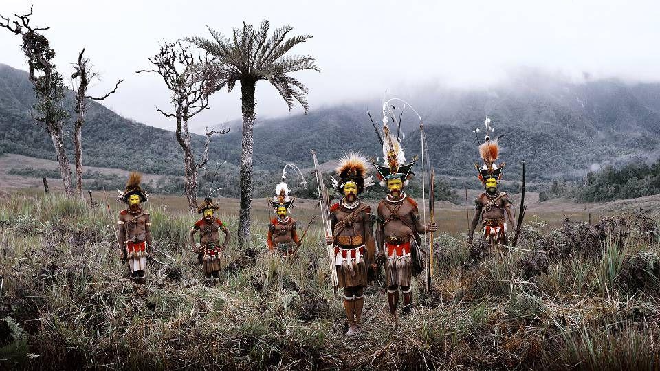 De Tribu Huli – Nieuw Guinea