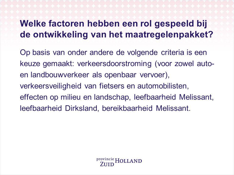 Waarom worden er rotondes aangelegd bij de kruising met de Staakweg, de Oudelandsedijk en de Noorddijk.
