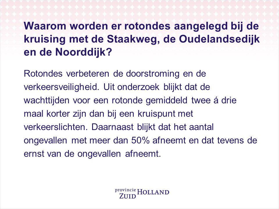 Waarom wordt een fietstunnel aangelegd bij de rotonde Noorddijk.