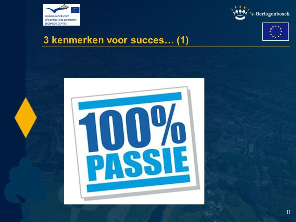 11 3 kenmerken voor succes… (1)