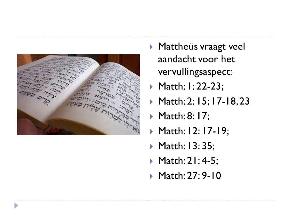 Het Koninkrijk en de heidenen  Uitgerekend Mattheüs heeft enkele bijzondere uitspraken m.b.t.