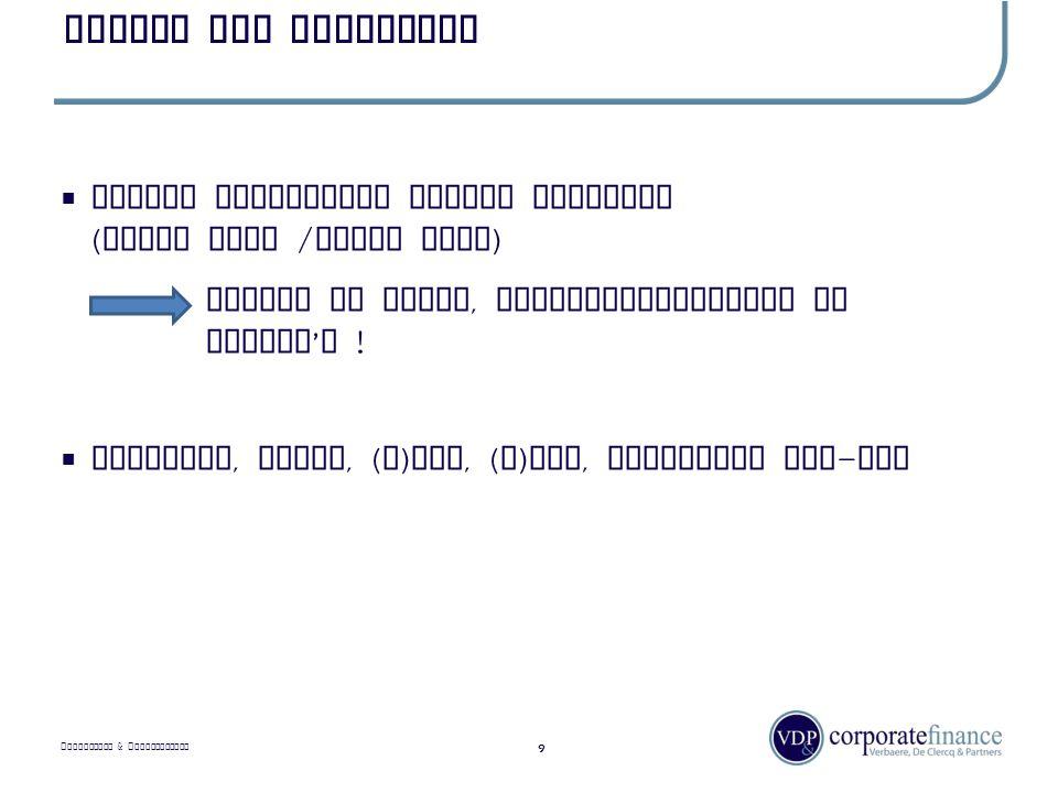 P RIVILEGED & C ONFIDENTIAL Ondernemingen - typologie 10  Onderneming versus eenmanszaak : organisatie  Familiale onderneming, afhankelijkheid persoon / gezin  Diensten versus productiebedrijf – onderaannemer – eigen merk / private label
