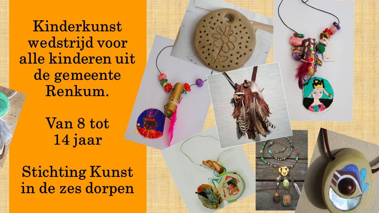 Kinderkunst wedstrijd voor alle kinderen uit de gemeente Renkum.