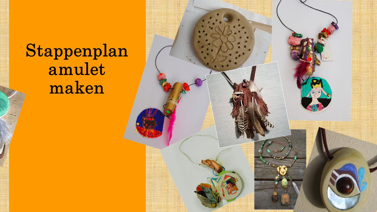 Stappenplan amulet maken