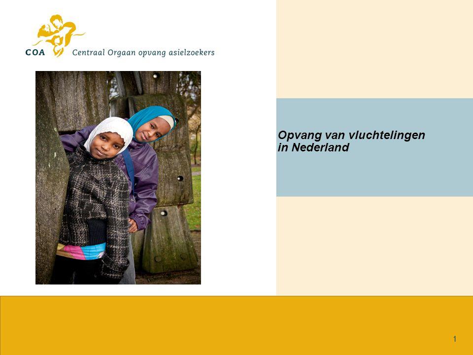 Opvang van vluchtelingen in Nederland 1