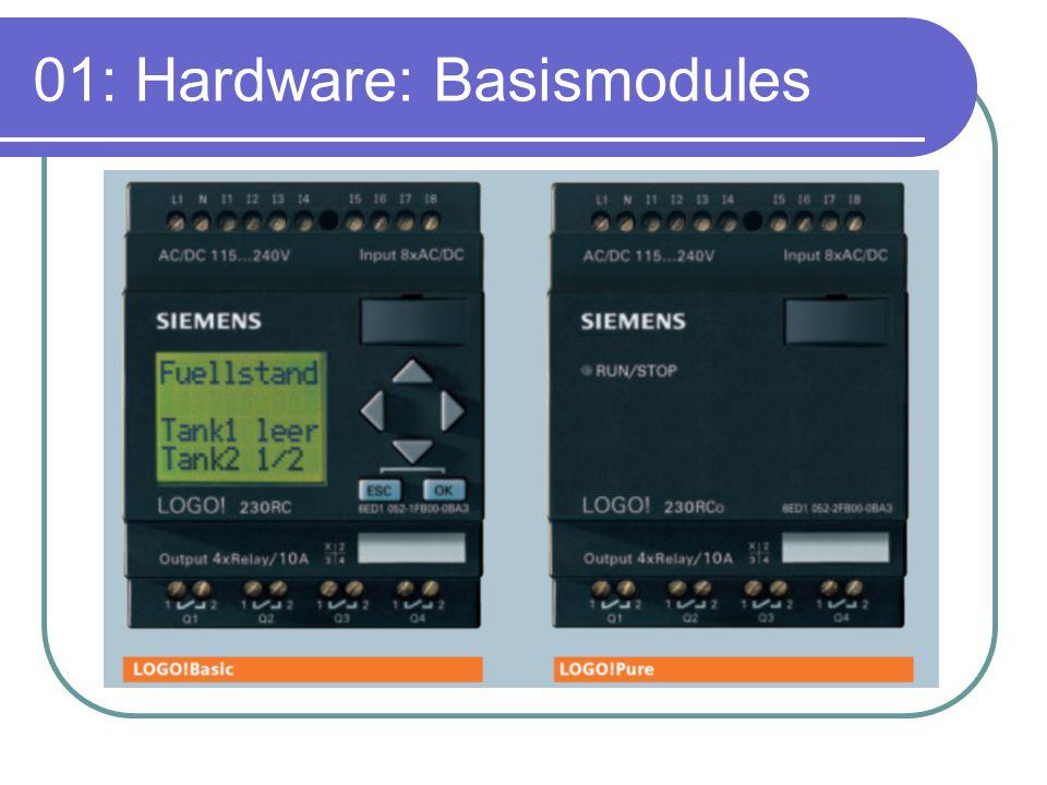 01: Hardware: Basismodules