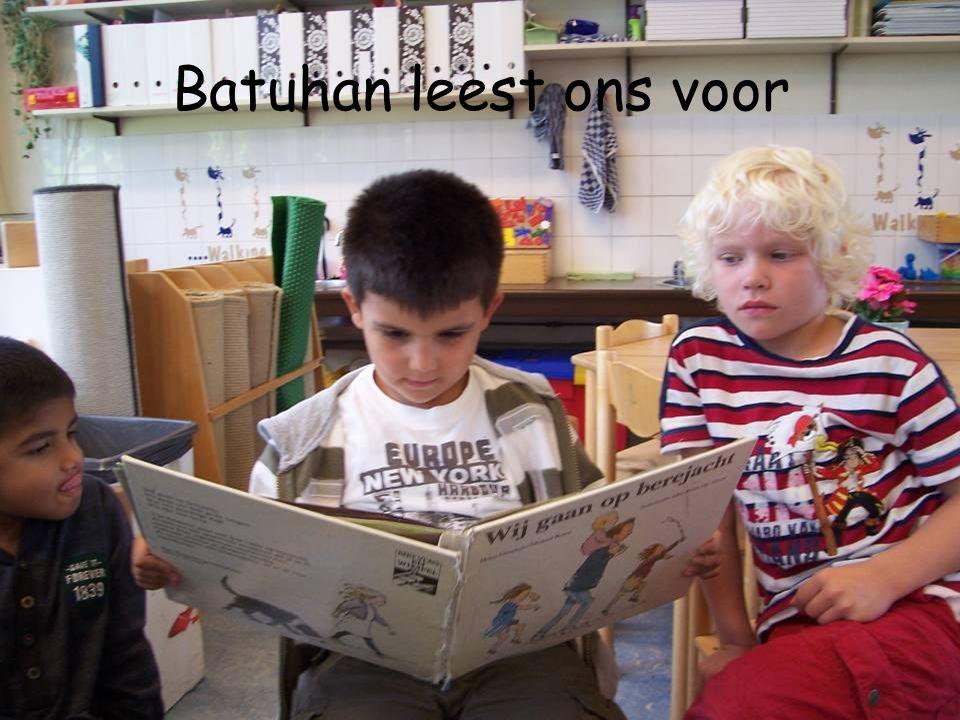 Batuhan leest ons voor