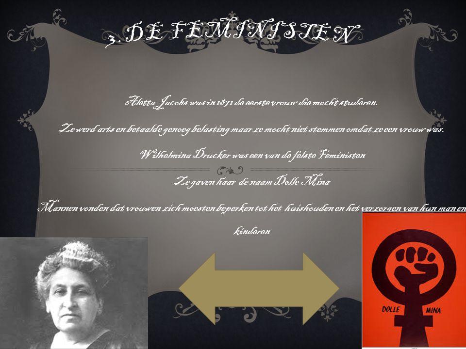Aletta Jacobs was in 1871 de eerste vrouw die mocht studeren.