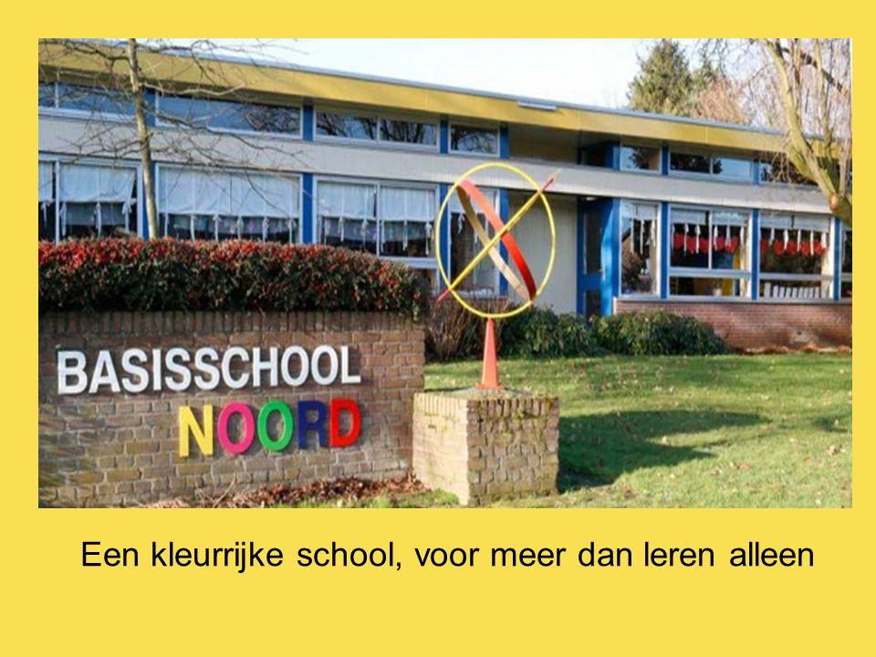 Een kleurrijke school, voor meer dan leren alleen