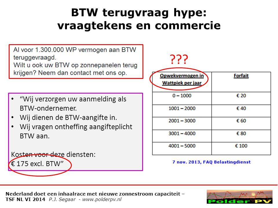 Impressies Klimaatmonitor: prestatie provincies Nederland doet een inhaalrace met nieuwe zonnestroom capaciteit – TSF NL VI 2014 P.J.
