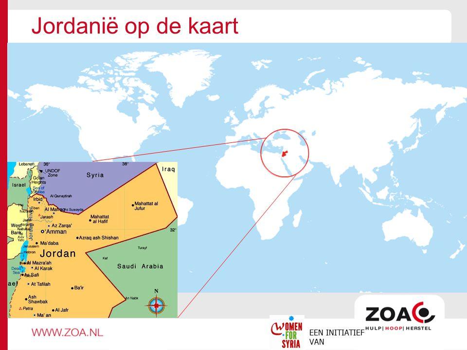 Jordanië op de kaart EEN INITIATIEF VAN