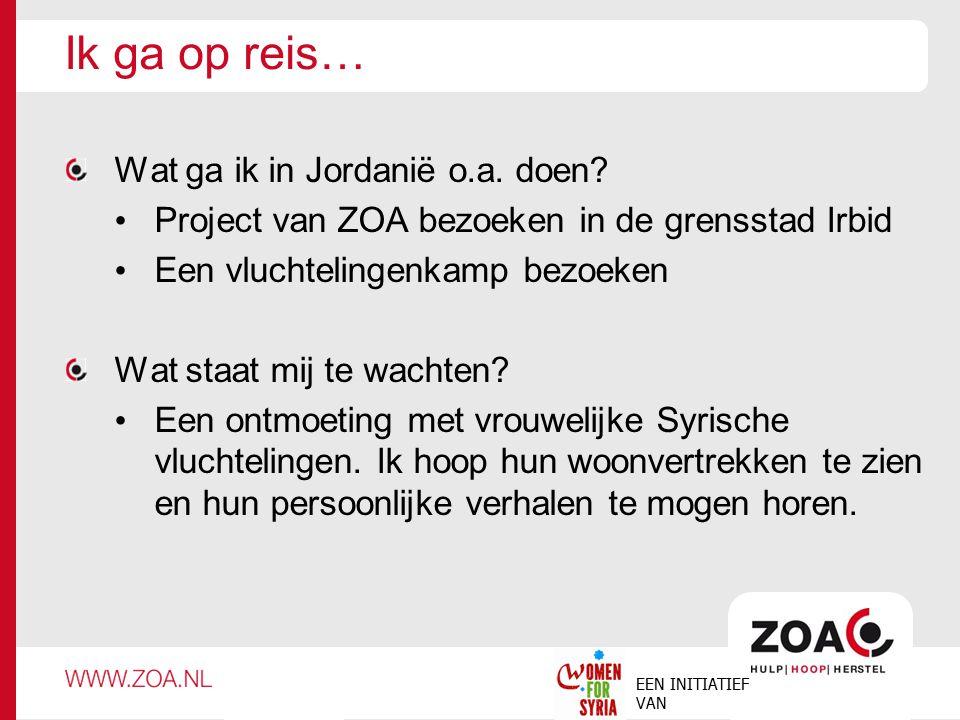 Women for Syria Women for Syria is een initiatief van ZOA.