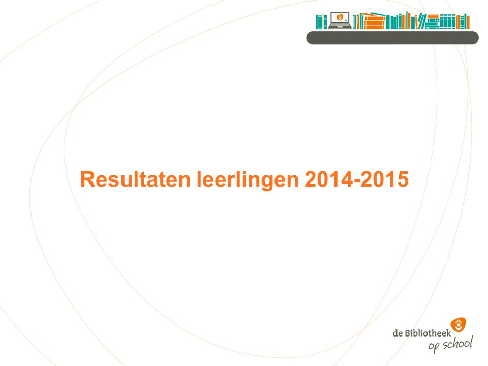 Resultaten leerlingen 2014-2015