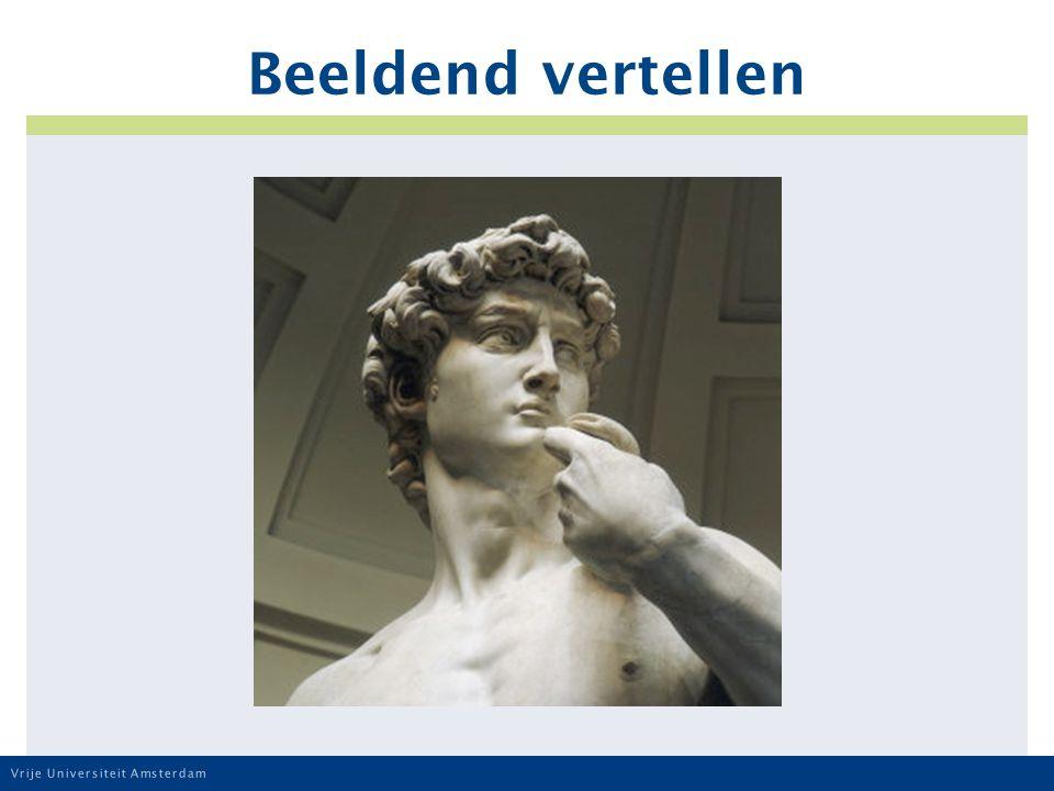 Vrije Universiteit Amsterdam Beeldend vertellen