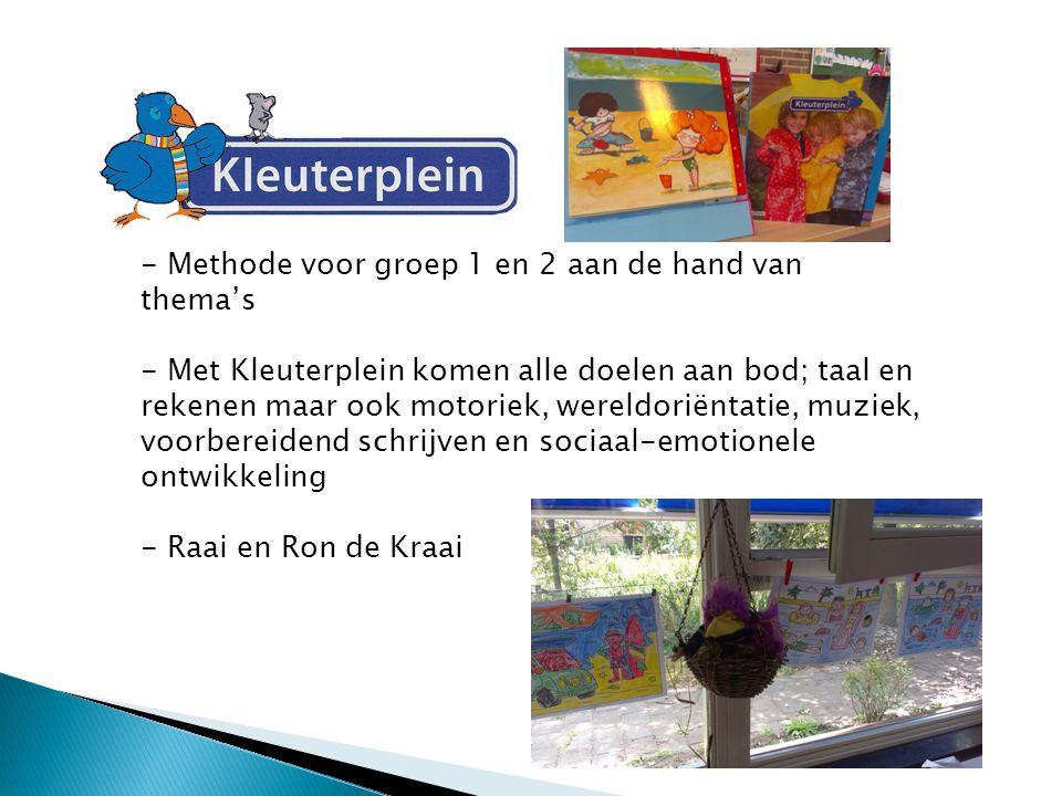 Wat doen de kinderen in groep 2 - De kinderen krijgen een weektaak (4 activiteiten) - Met behulp van de methode Klankkast en Spreekbeeld het aanleren van auditieve vaardigheden en letters en woordjes.
