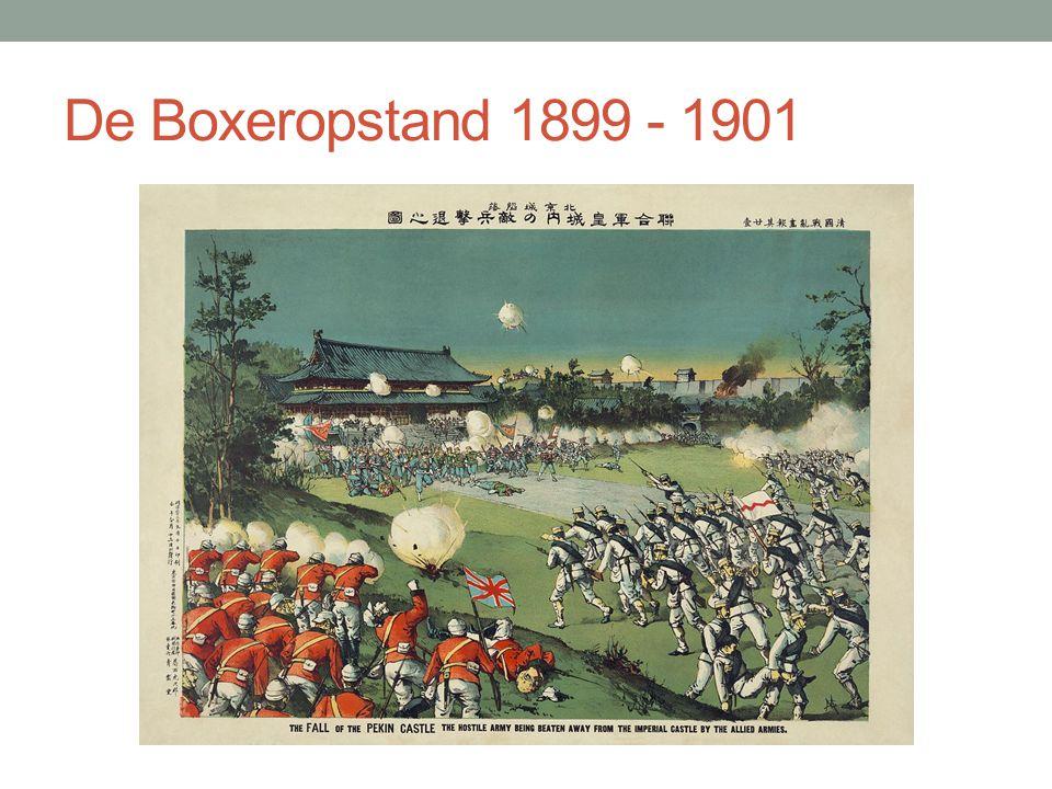 De Boxeropstand 1899 - 1901