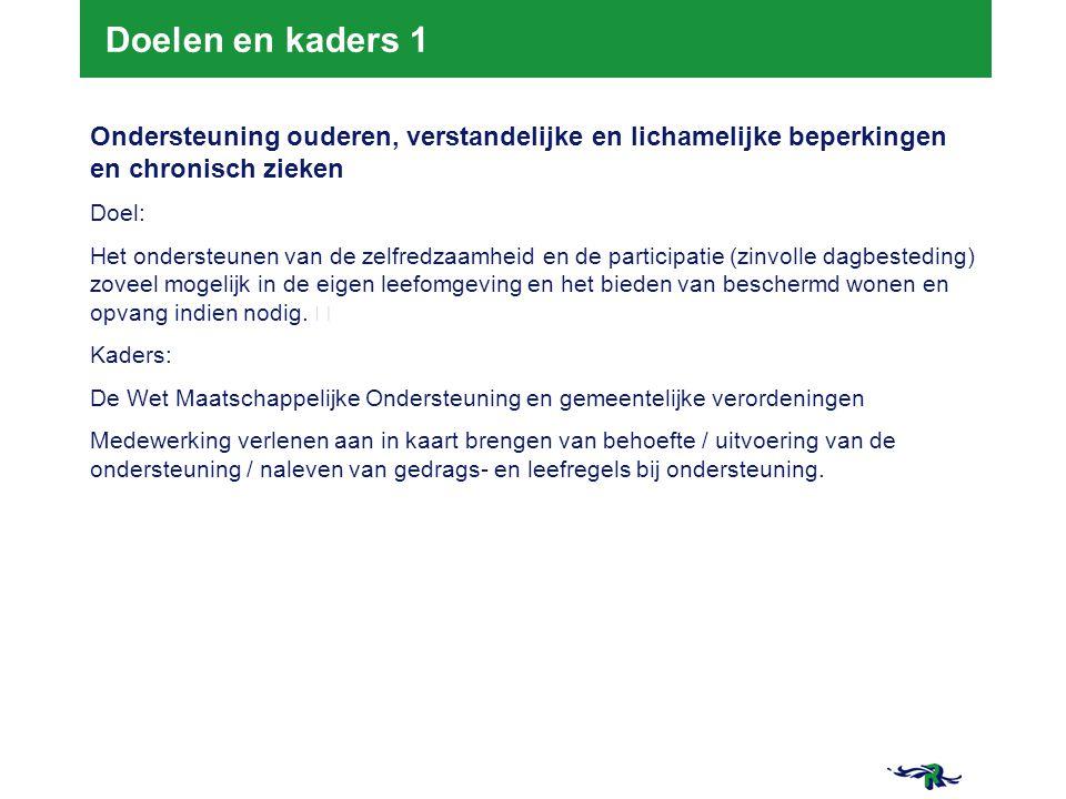 21-3-2015 8 8 Doelen en kaders 2 Opvoed-, opgroei- en gezinsondersteuning Doel: Kinderen en jongeren groeien kansrijk, gezond en veilig in Rotterdam en ouders worden daarin gesteund.