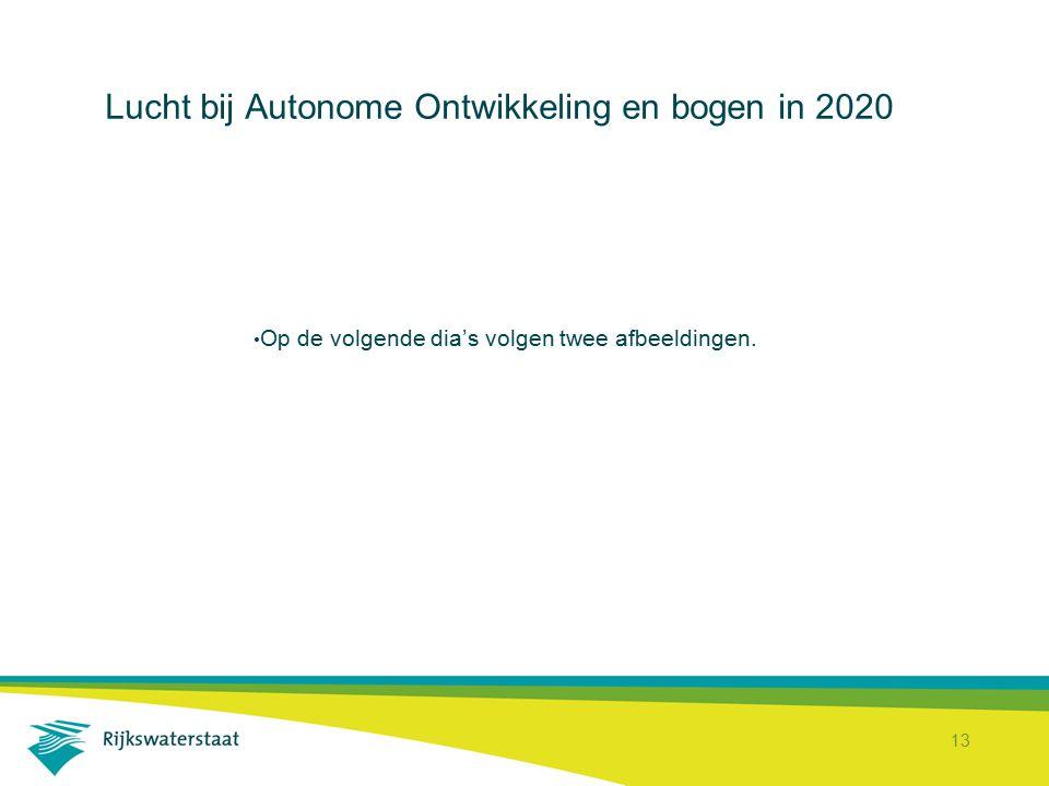 13 Lucht bij Autonome Ontwikkeling en bogen in 2020 Op de volgende dia's volgen twee afbeeldingen.
