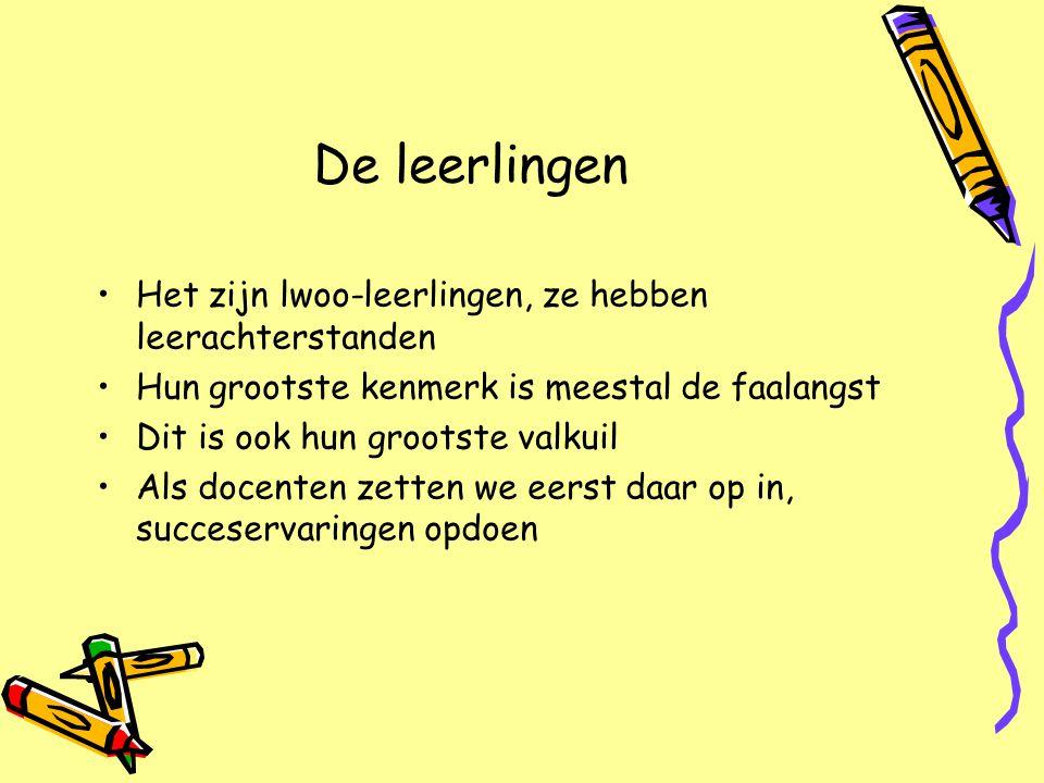 Doelstelling onderwijsconcept HJZ Eigen lokaal.Kluisjes dichtbij eigen lokaal.