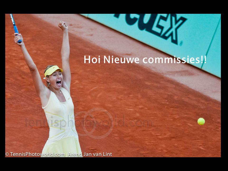 Hoi Nieuwe commissies!!! Hoi Nieuwe commissies!!