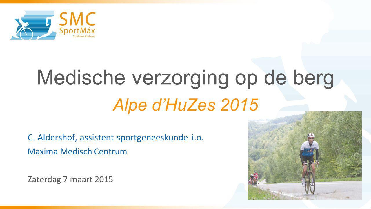 Medische verzorging op de berg C.Aldershof, assistent sportgeneeskunde i.o.