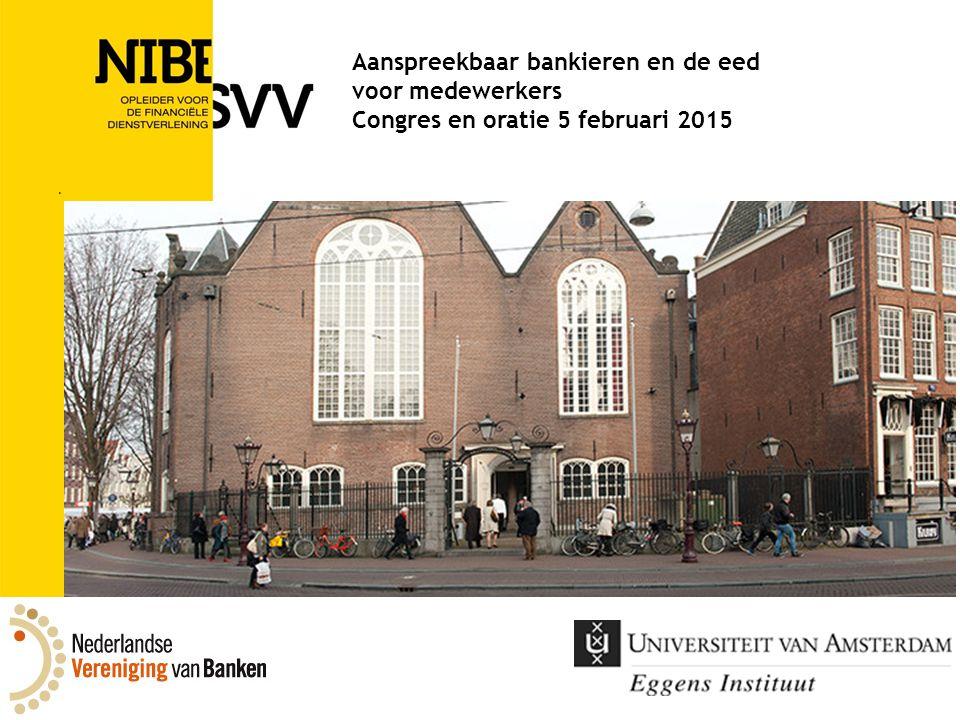 SPELERS IN TRANSITIE Rede uitgesproken bij de aanvaarding van het ambt van buitengewoon hoogleraar Implementatie Financieel Gedragsrecht aan de Universiteit van Amsterdam op donderdag 5 februari 2015 Rob Schotsman