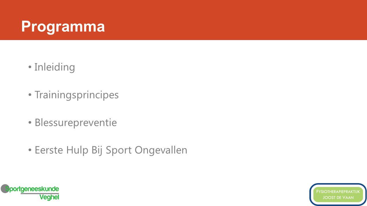 Inleiding Sporten met de meeste blessures: TOP 5 1.? 2.? 3.? 4.? 5.?