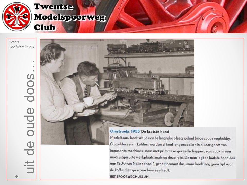 uit de oude doos… Foto's Leo Waterman Tekst: Albert Platvoet Deze foto is gemaakt op 29 juni 1963 vanaf de Wicher Nijkampbrug.