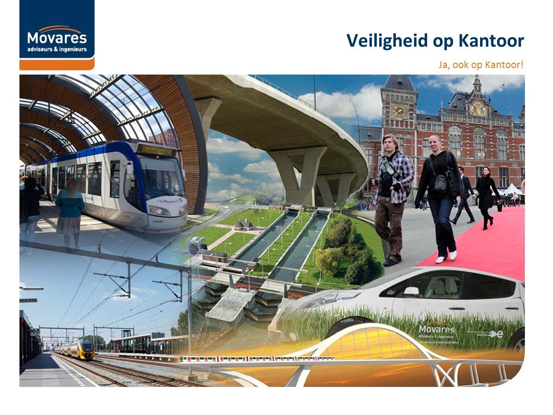 Veiligheid op kantoor is belangrijk Uit de wandelgangen: Er rijden hier toch geen treinen.