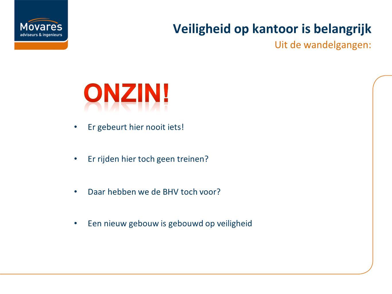 Veiligheid op kantoor is belangrijk Uit betrouwbare bron:.....