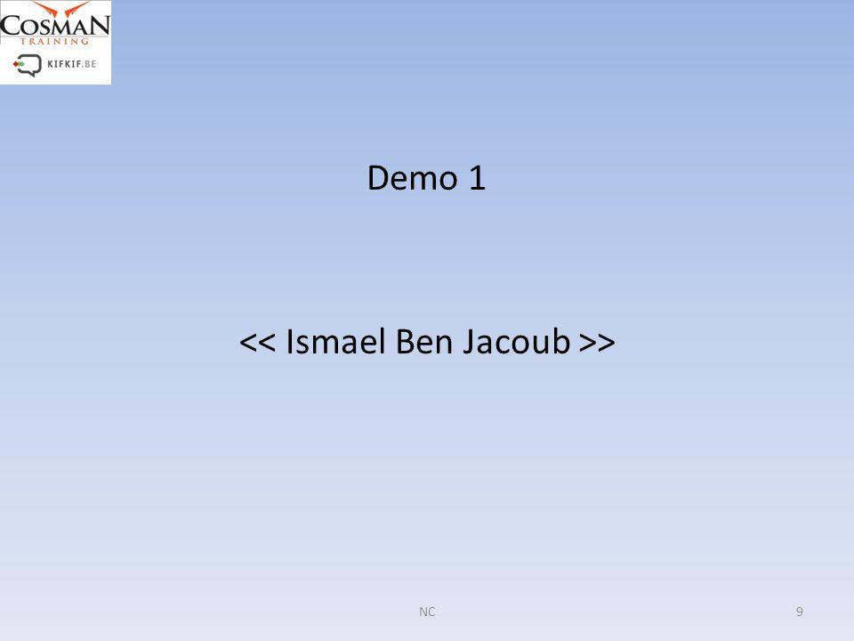 Demo 1 > 9NC