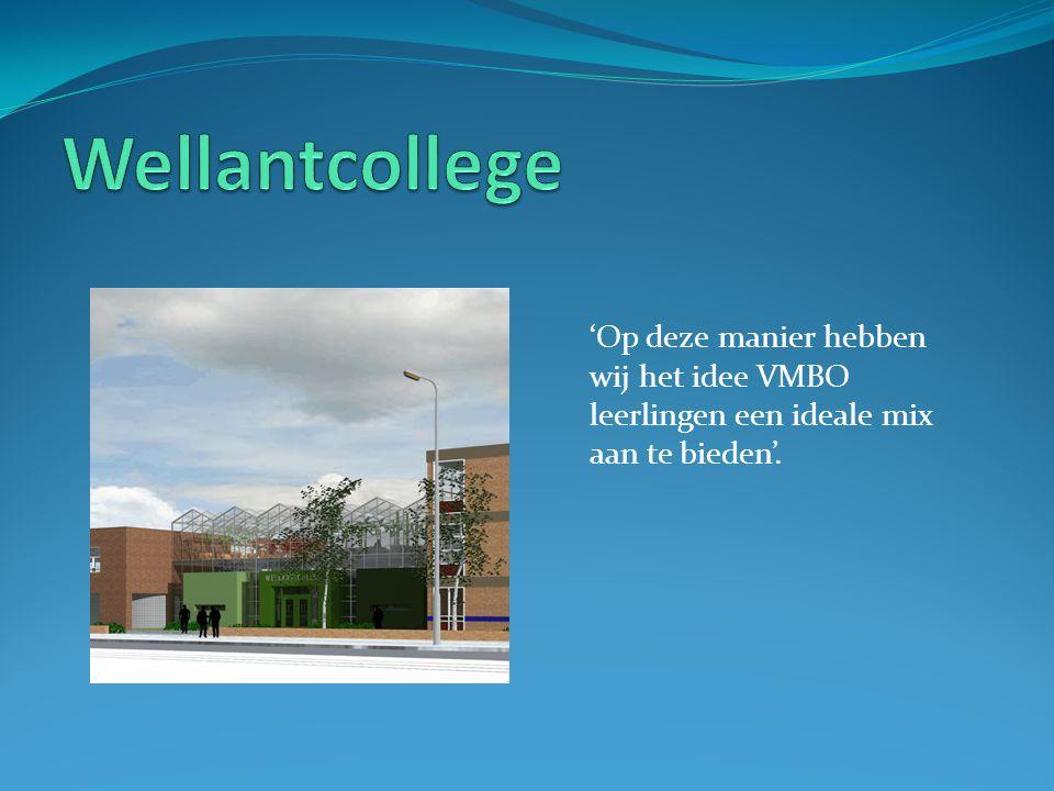 'Op deze manier hebben wij het idee VMBO leerlingen een ideale mix aan te bieden'.