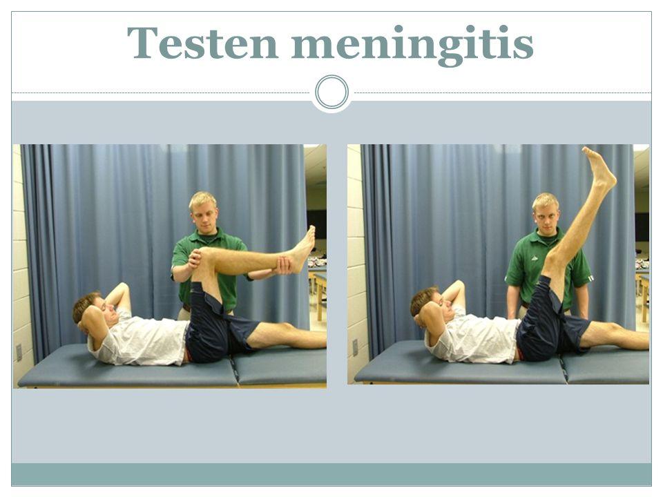 Testen meningitis