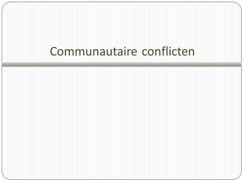 Communautaire conflicten