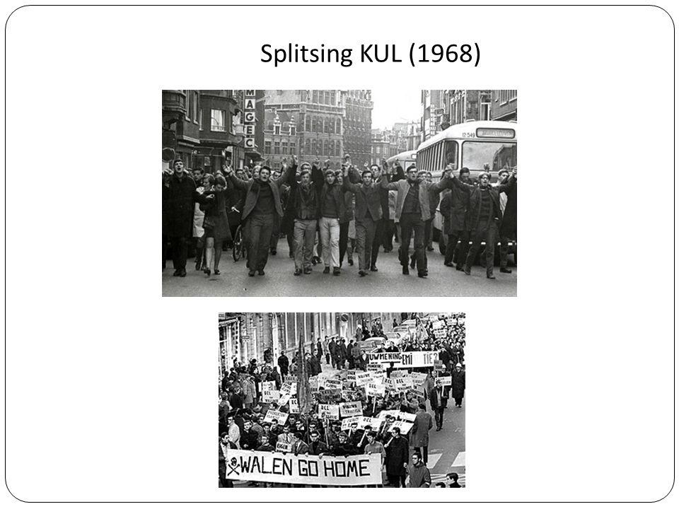 Splitsing KUL (1968)
