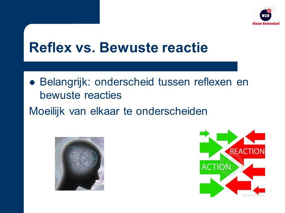 Reflex vs.