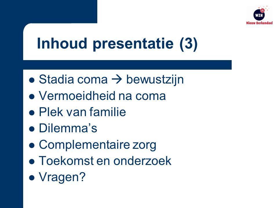 Den Haag Onderdeel van WZH 14 locaties Nieuw Berkendael 108 cliënten Voorstellen WZH Nieuw Berkendael