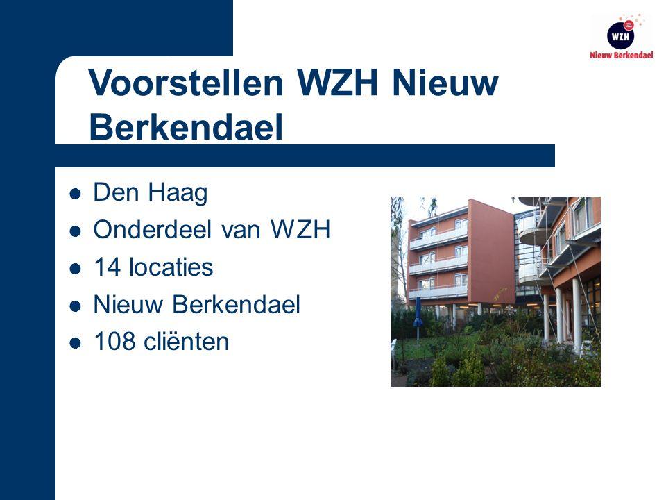 WZH Nieuw Berkendael gaat voor de mens Het hoogst haalbare Individuele benadering Open, samen en geborgen Visie WZH Nieuw Berkendael
