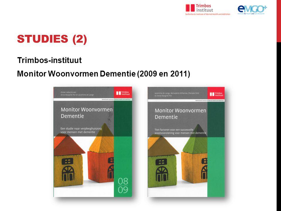 RESULTATEN ONDERZOEK BEWONERS (2) Uitkomsten na zes maanden (na correctie voor confounding): Verschil QoL: Meer genieten van de omgeving (DQoL) meer om handen hebben (Qualidem) Te Boekhorst et al (2009), International Journal of Geriatric Psychiatry (24), 970-8.