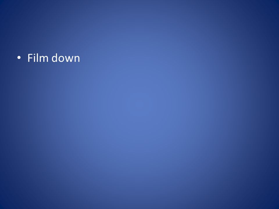 Film down