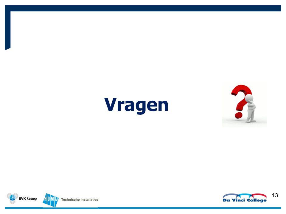 13 Werkplaats BVR Groep Vragen