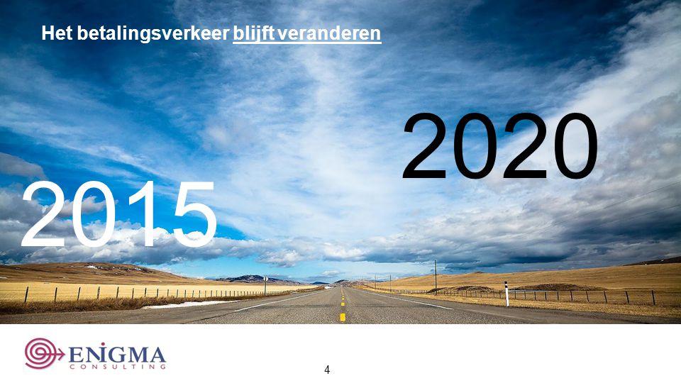 Het betalingsverkeer blijft veranderen 2015 2020 4