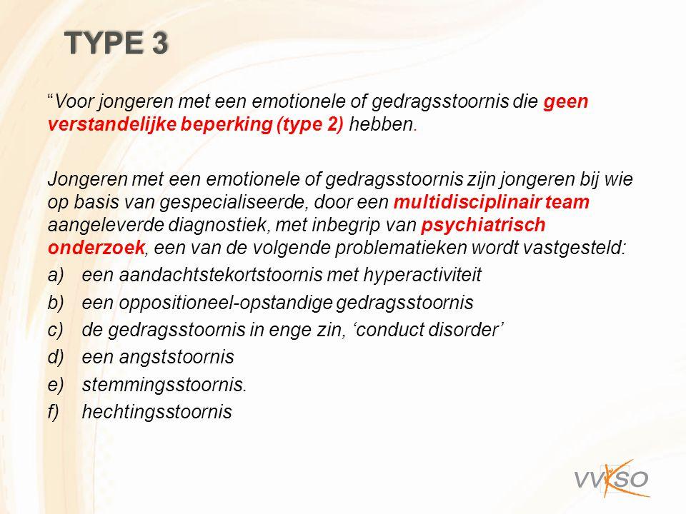 """""""Voor jongeren met een emotionele of gedragsstoornis die geen verstandelijke beperking (type 2) hebben. Jongeren met een emotionele of gedragsstoornis"""