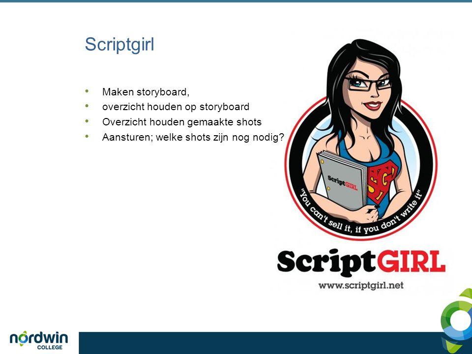 Tekstschrijver Opnameplan schrijven van instructiefilm Tekst onder de beelden bij de montage maken Titel en aftiteling